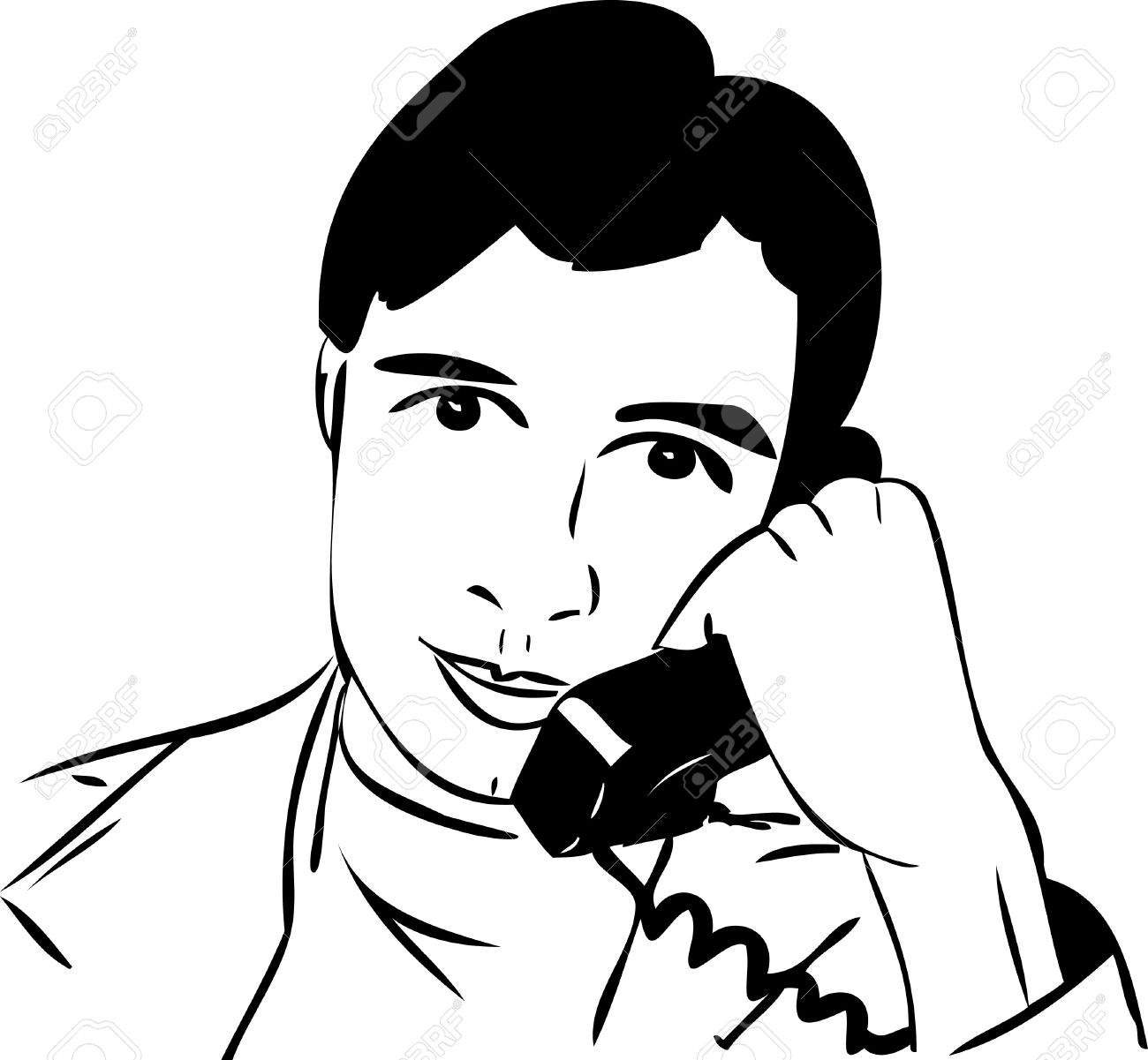 Talking On The Phone With A Guy