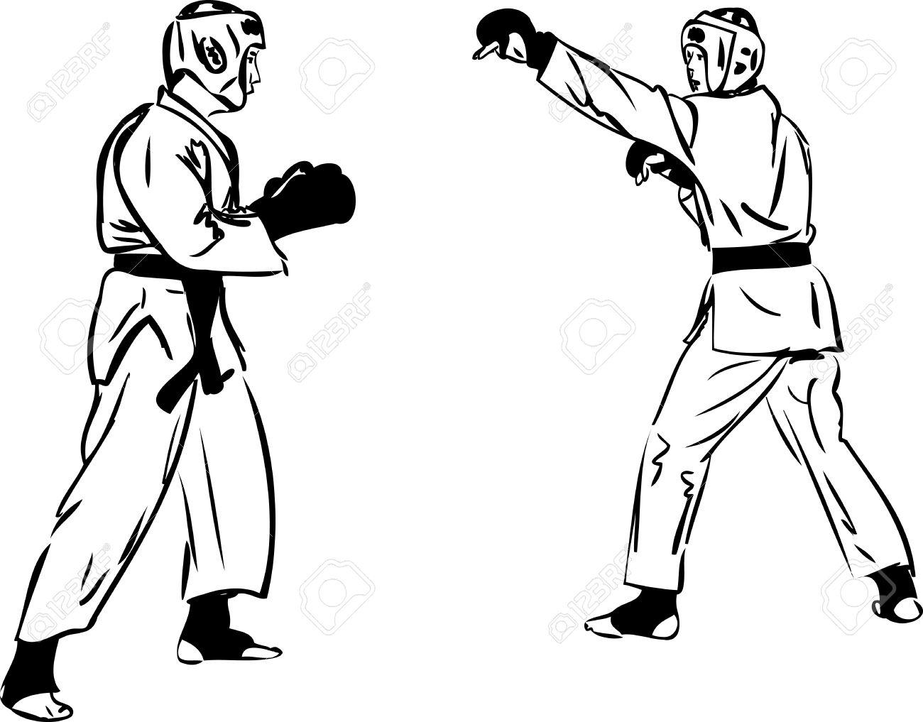 Рисунок спортсменов карандашом 5