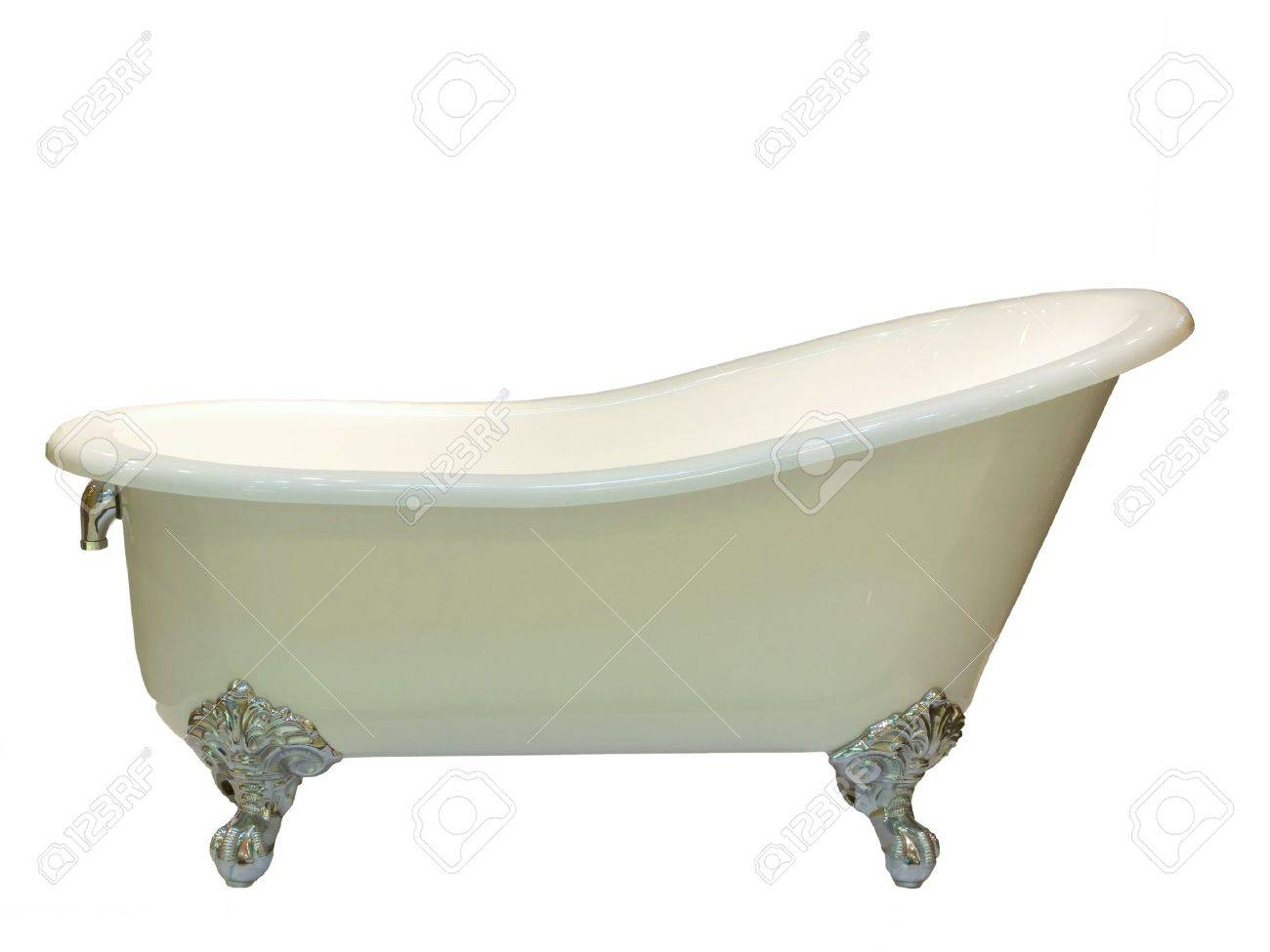 Close Up Of Luxury Bathtub Stock Photo   10338636