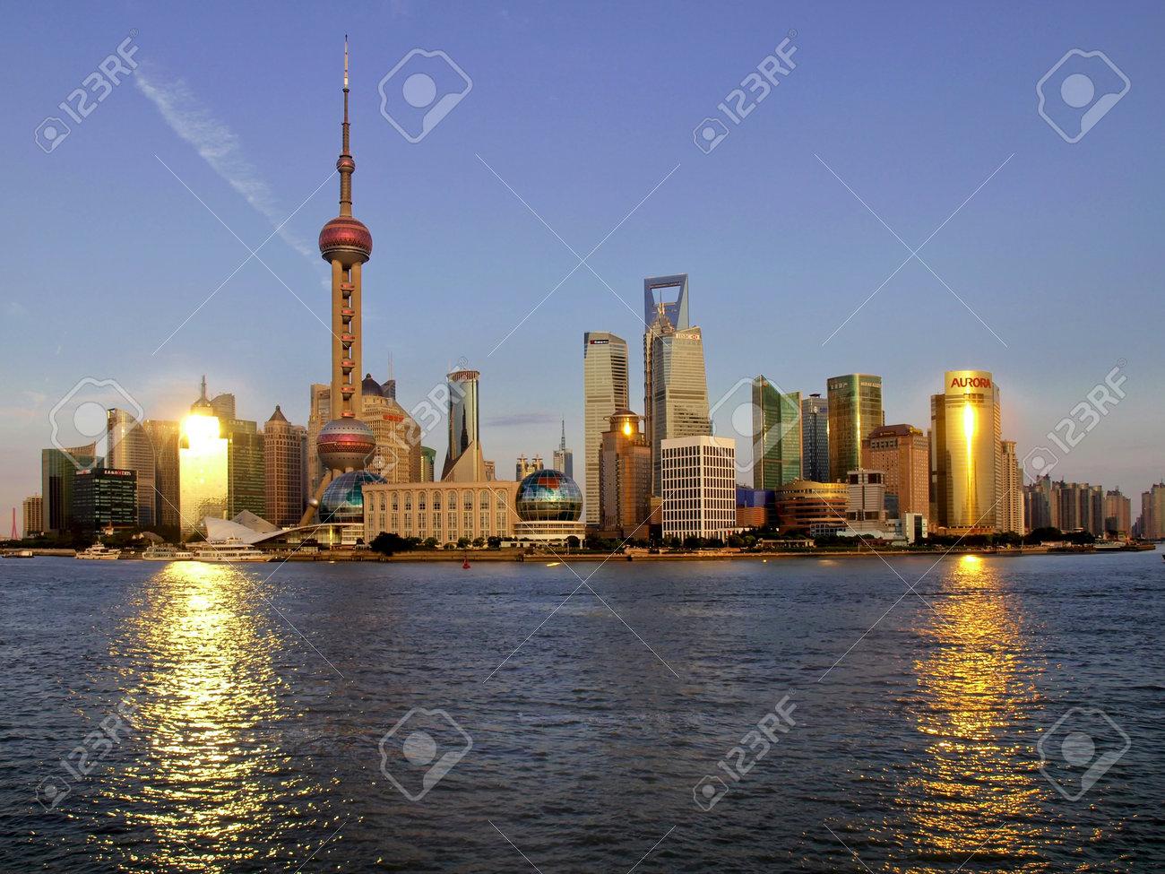 pudong, shanghai, china - 10736422