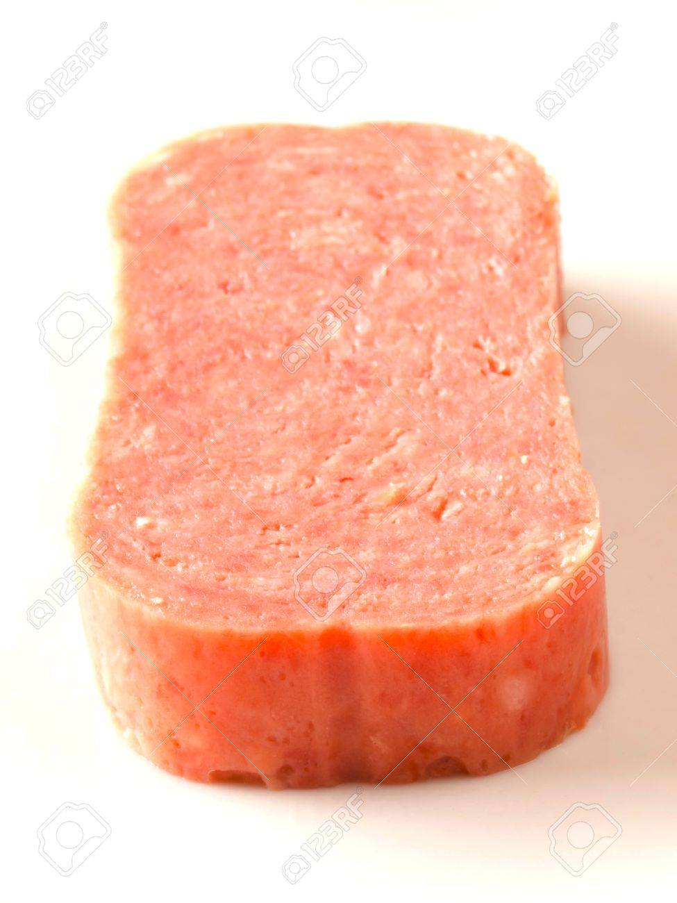 close up of spam on white - 11222167