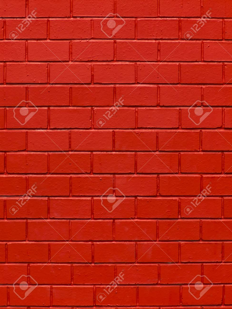close up of red brick wall background Stock Photo - 12240624