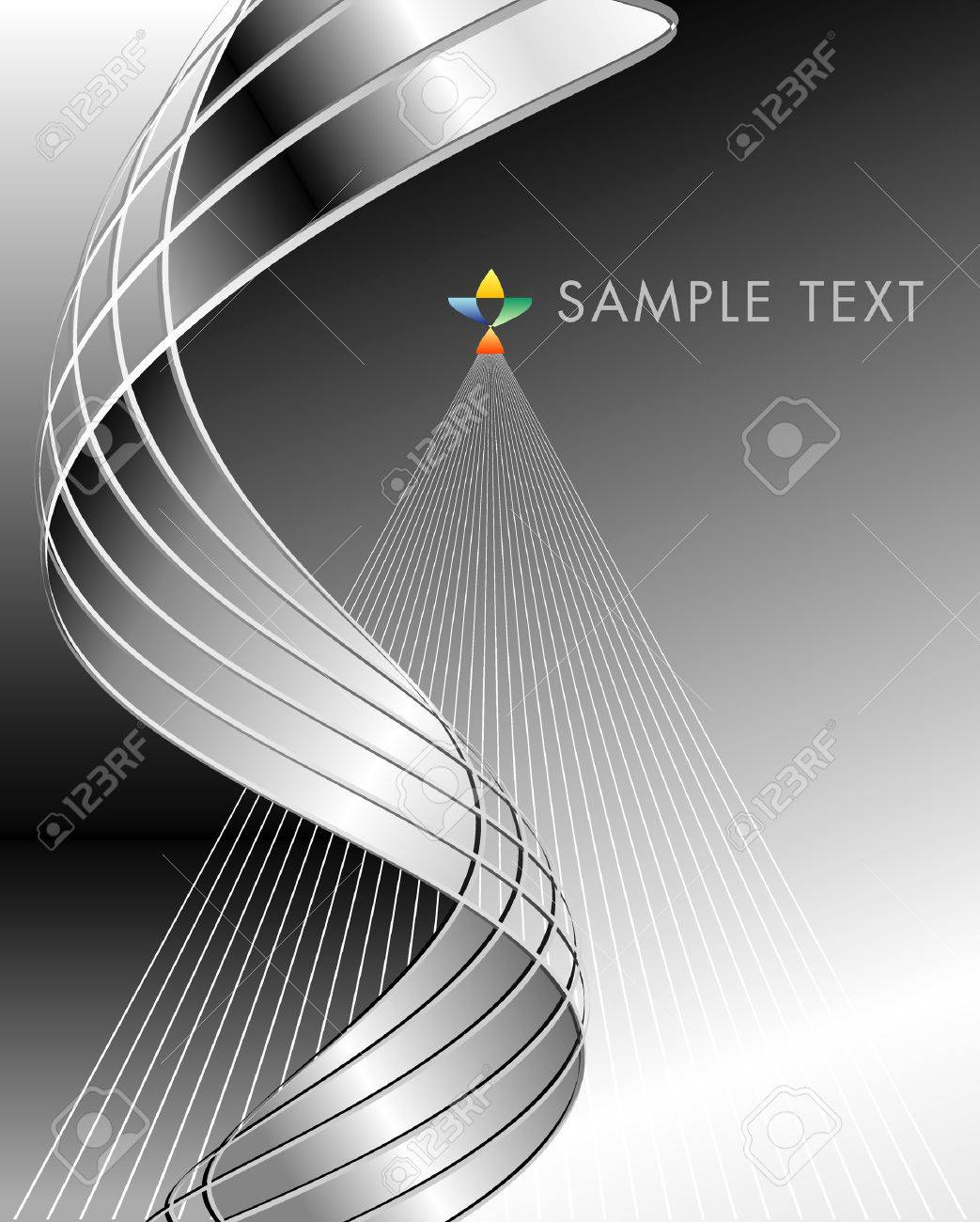 vector abstract layout for various business Stock Vector - 4603168