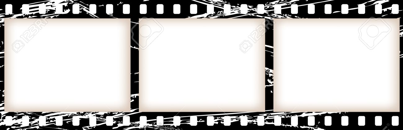 vector old celluloid film tape royalty free cliparts vectors and