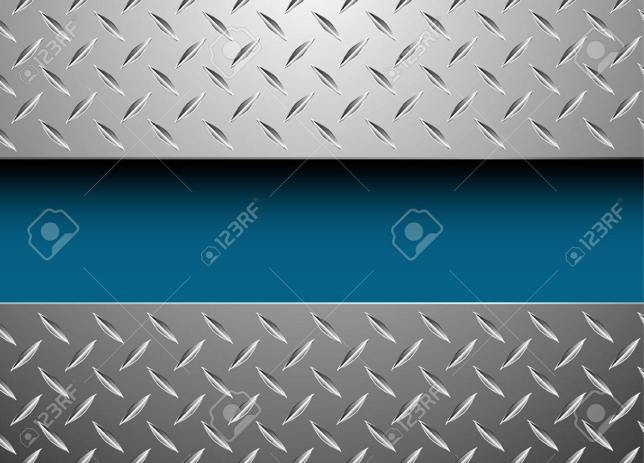 vector background with metal plate Stock Vector - 6722365