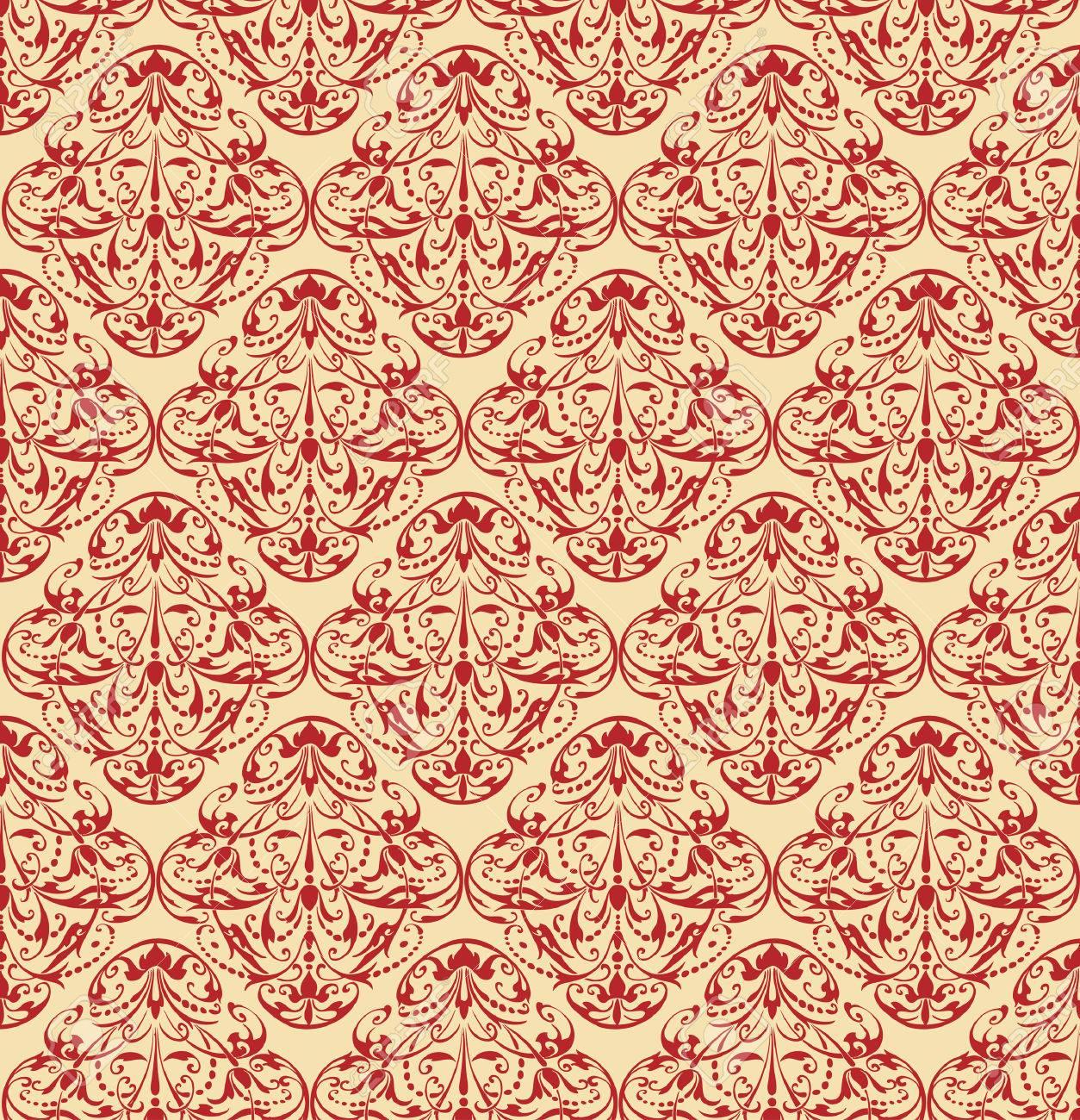 papel tapiz barroco repetida foto de archivo