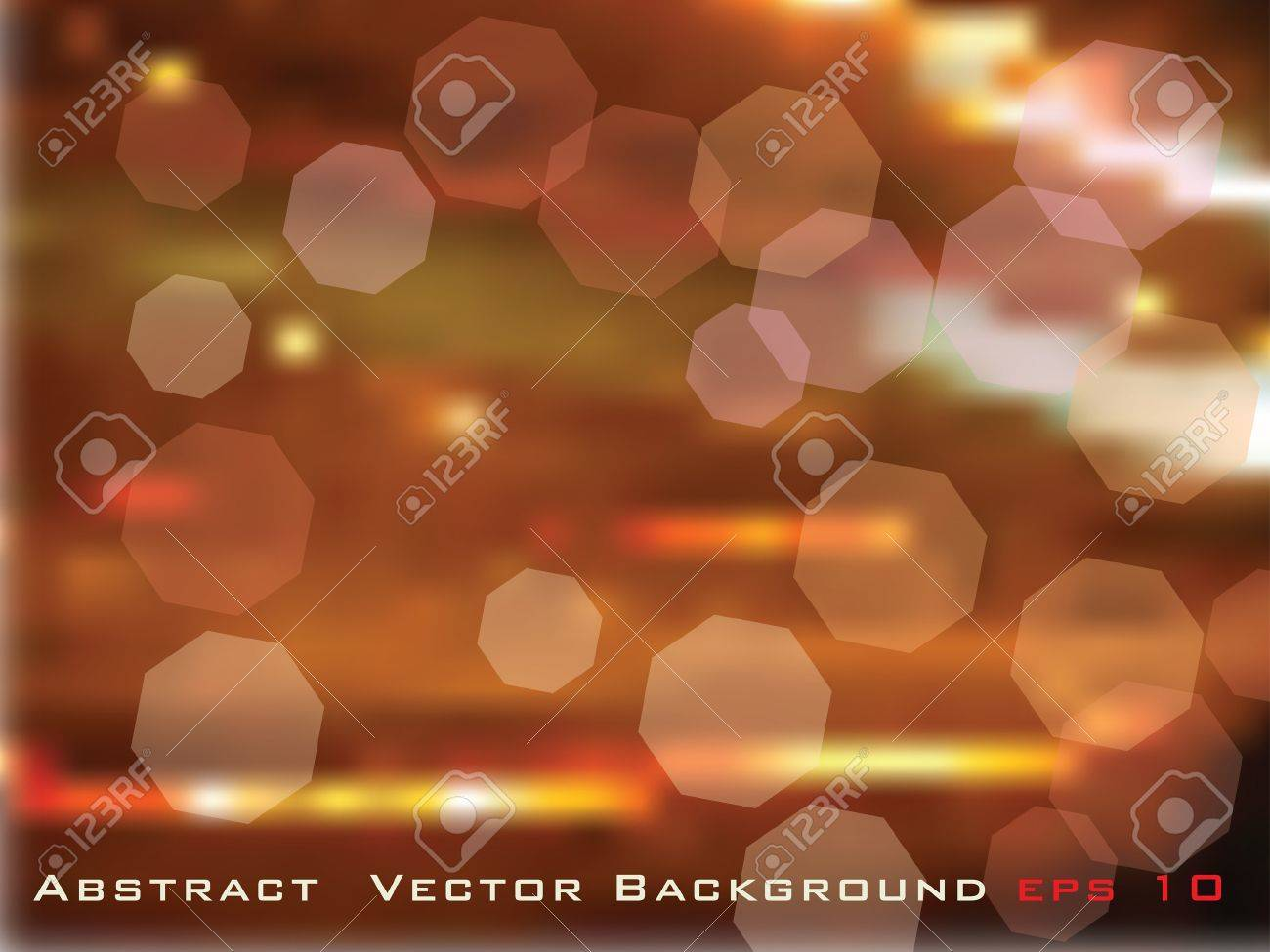 vector abstract illustration like night urban scene Stock Vector - 9440518