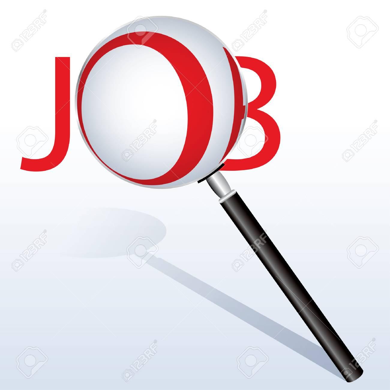 vector icon find job Stock Vector - 24021809