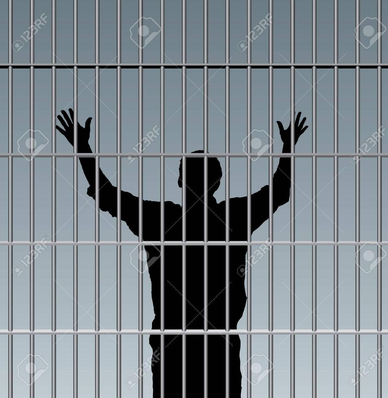 desperate prisoner in jail - 27320646
