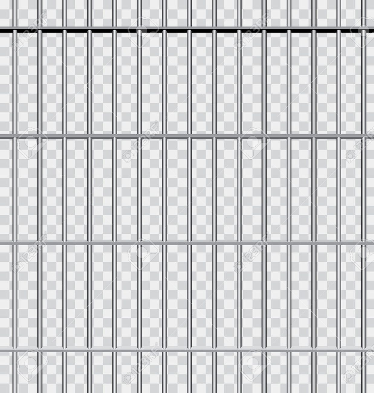 vector background with jail bars - 37202968