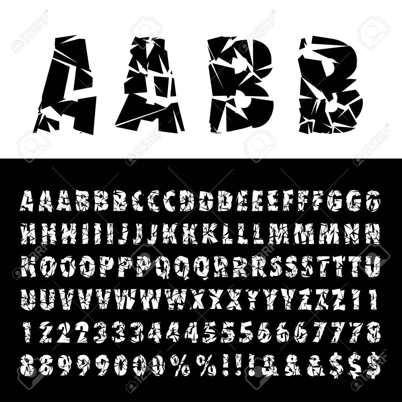 Cut Font Style
