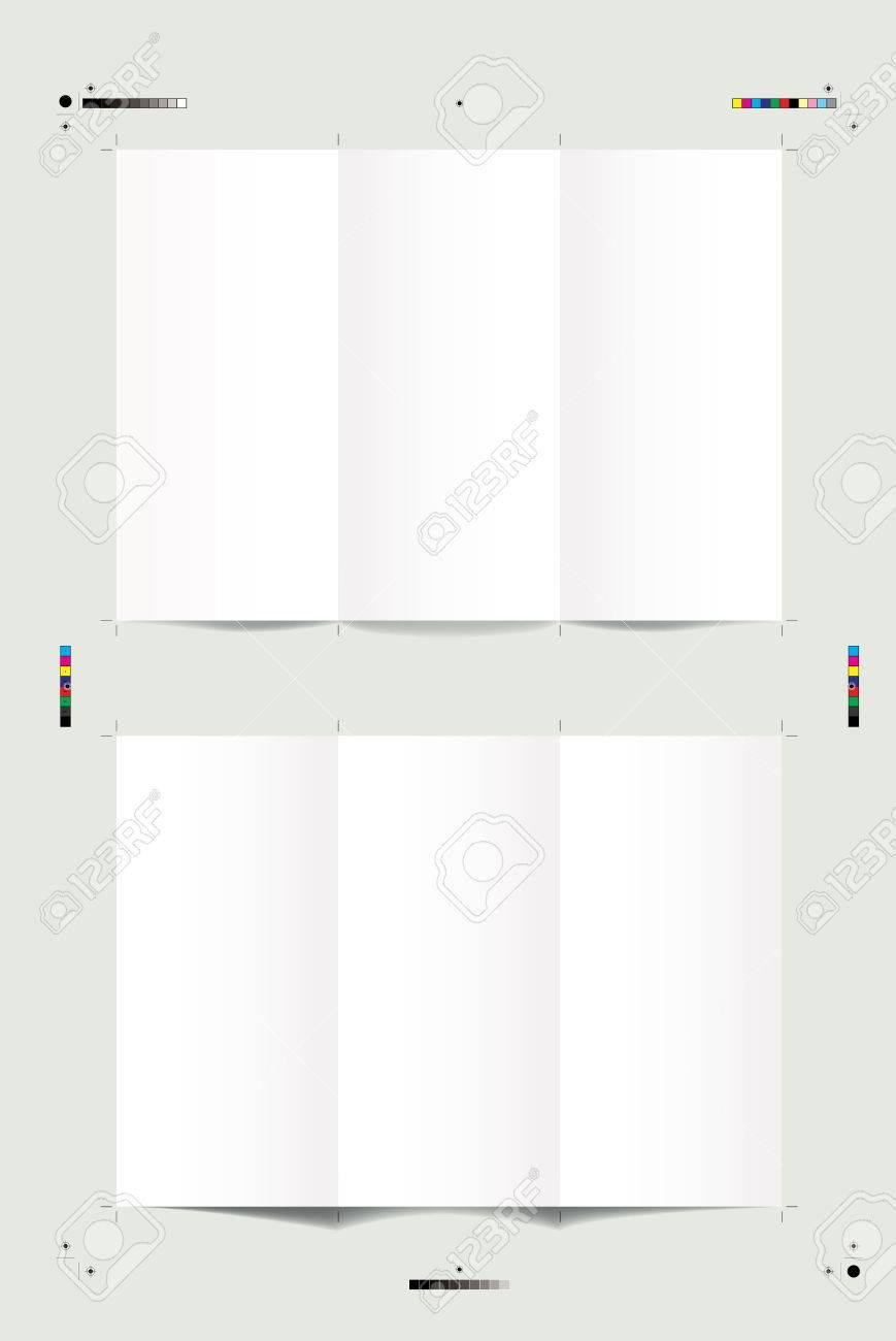 トリムマーク 折り畳み式のマーク レジストレーション マーク カラー
