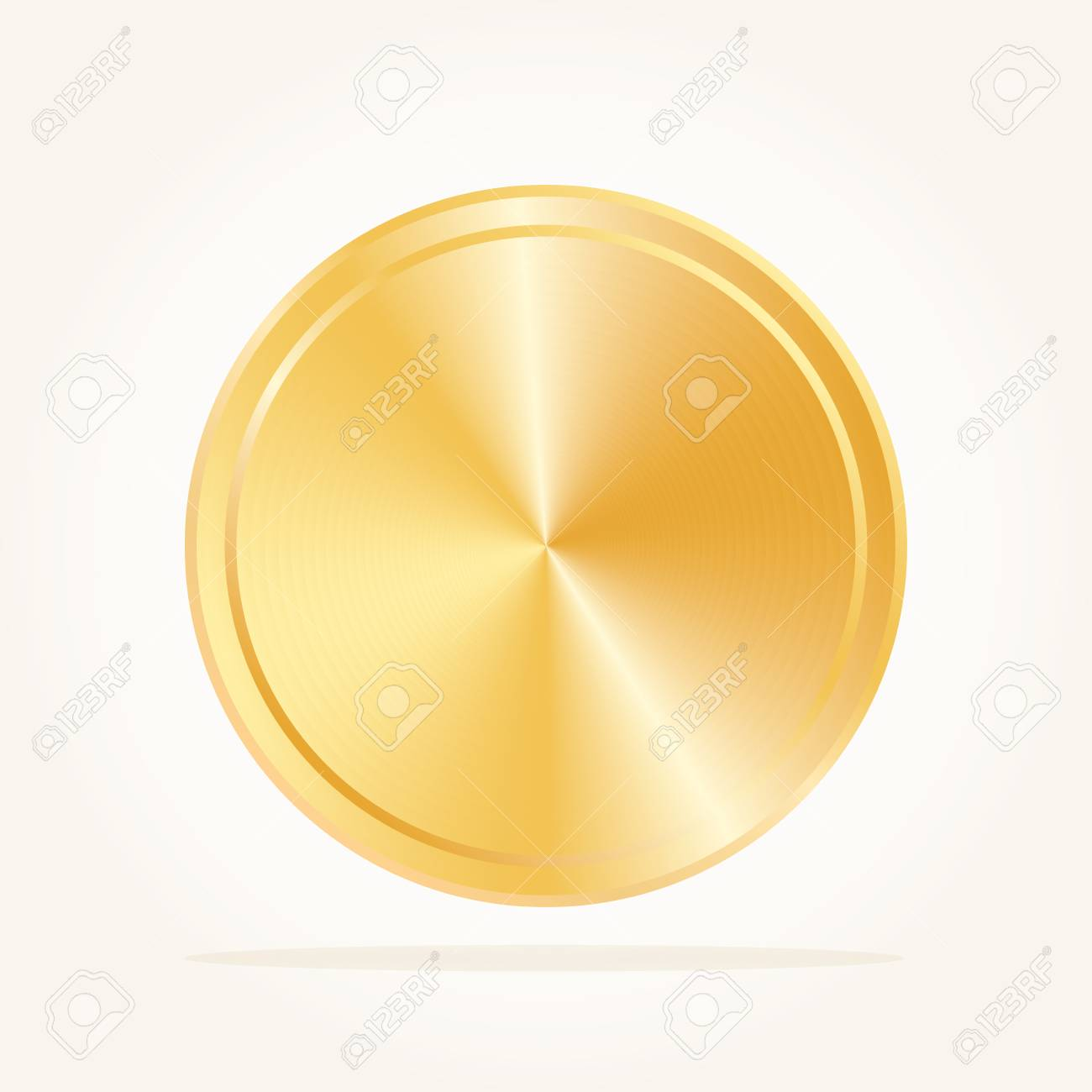 Vector Blank Gold Medal Champions Medallion Royalty Free Cliparts Vectors And Stock Illustration Image 80392883