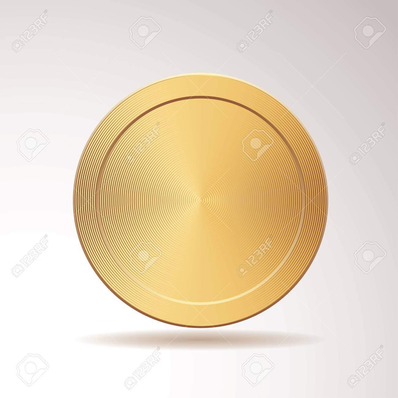 Vector Blank Gold Medal Champions Medallion Royalty Free Cliparts Vectors And Stock Illustration Image 94676475