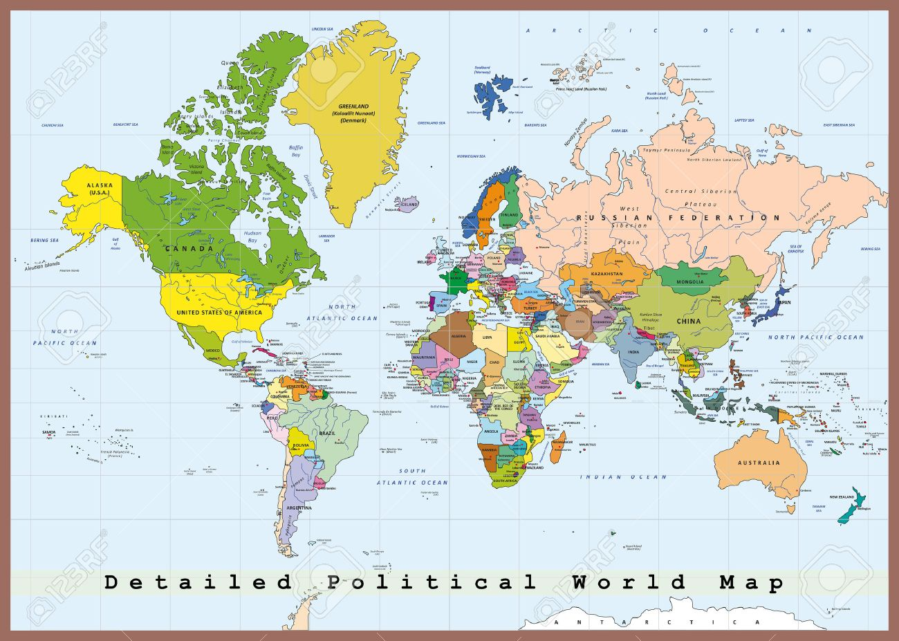 carte-des-capitales-du-monde - Photo