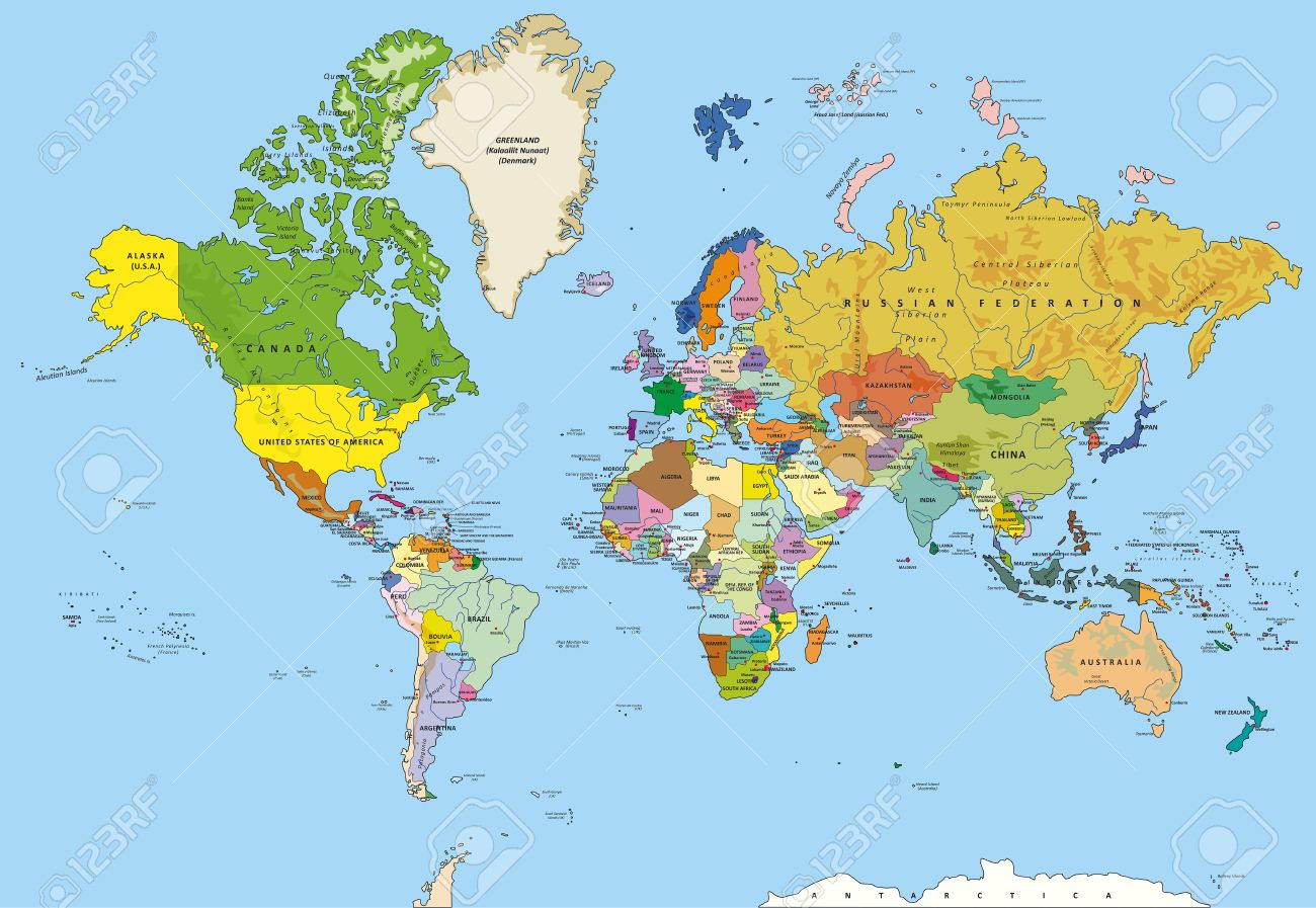 United States Map Nations Online Project Map Usa States And - Map us of america