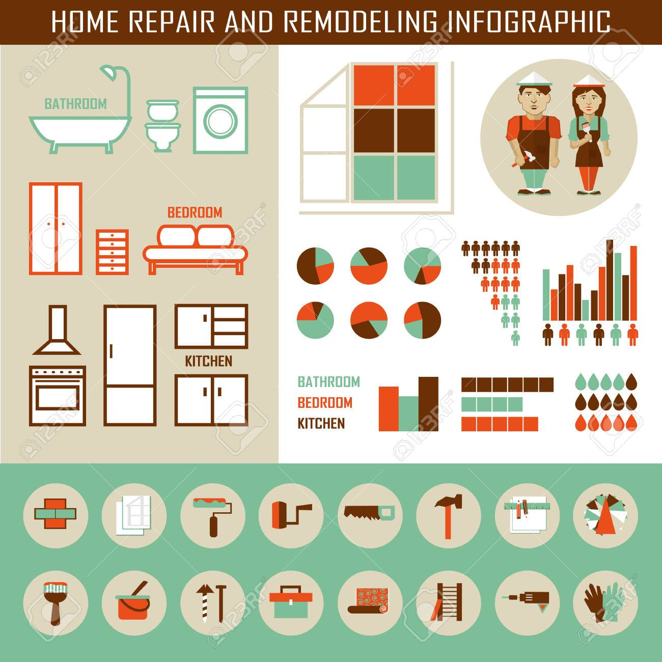 626 Bathroom Remodeling Cliparts, Stock Vector And Royalty Free ...