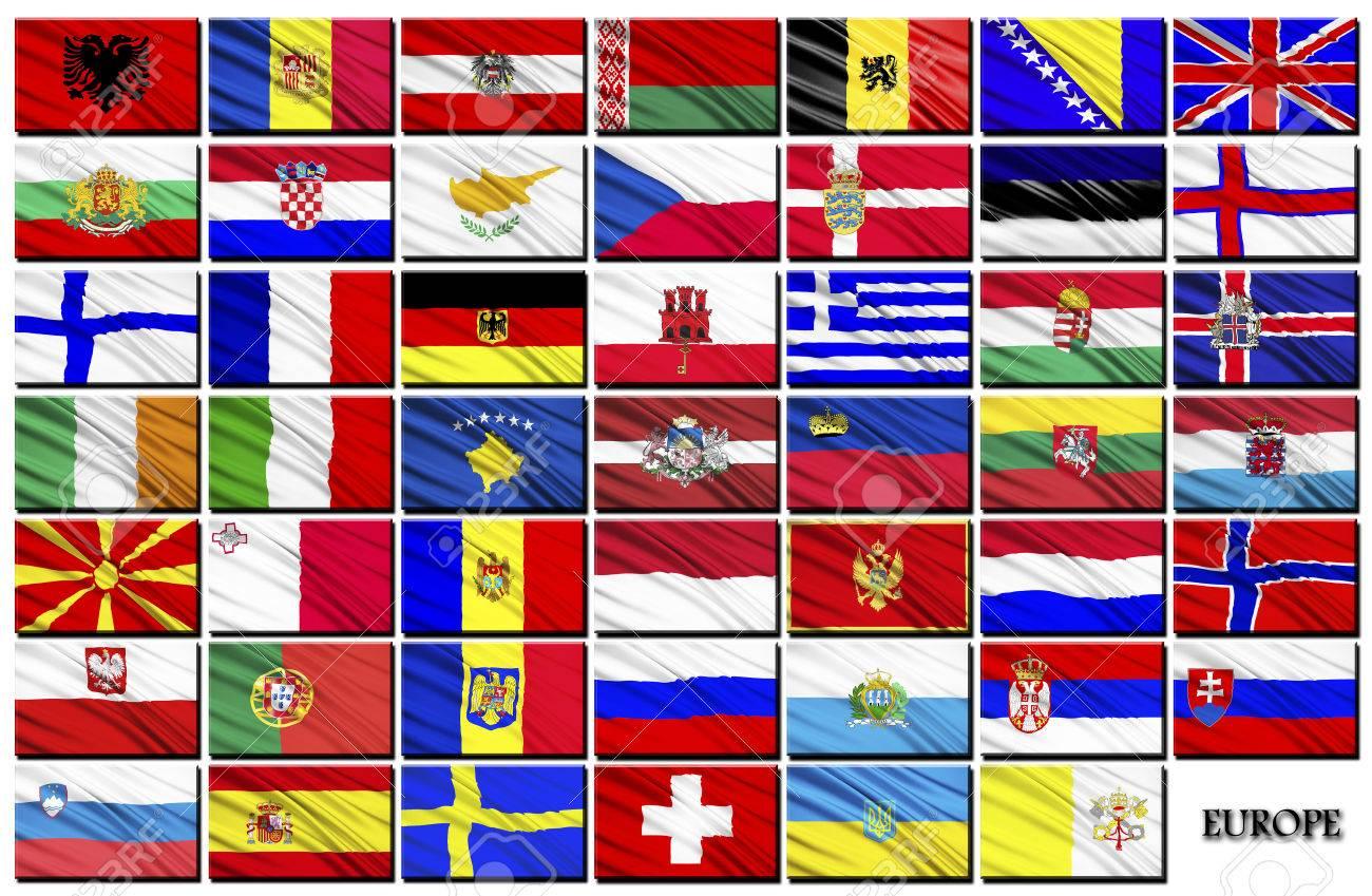 アルファベット順で欧州諸国の国...