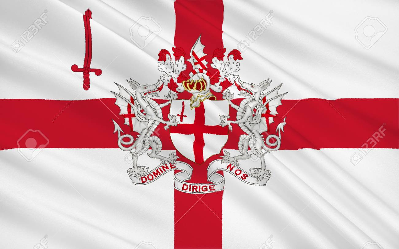 Image result for city of london flag