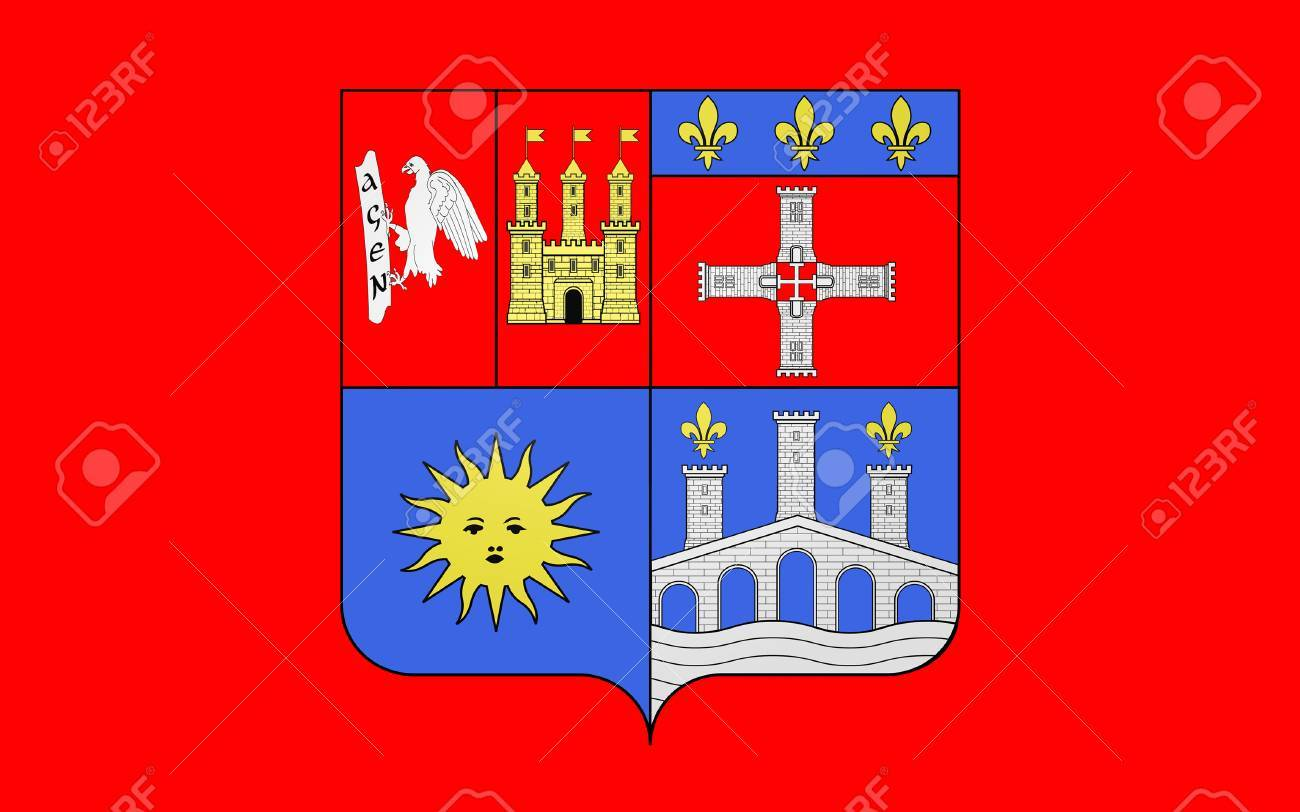 Flag of lot et garonne is a department in the southwest of france flag of lot et garonne is a department in the southwest of france named buycottarizona Gallery