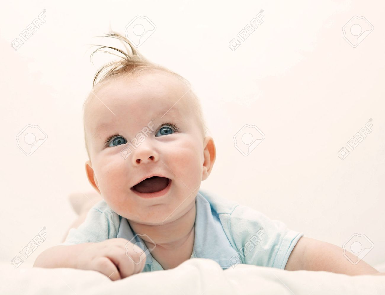 portrait of a smiling babies Stock Photo - 25887202