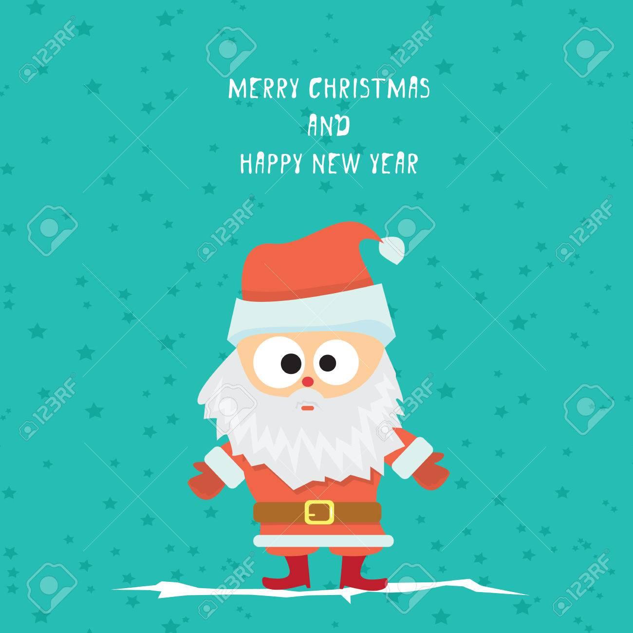 Vector comic cartoon merry christmas greeting card royalty free vector vector comic cartoon merry christmas greeting card m4hsunfo