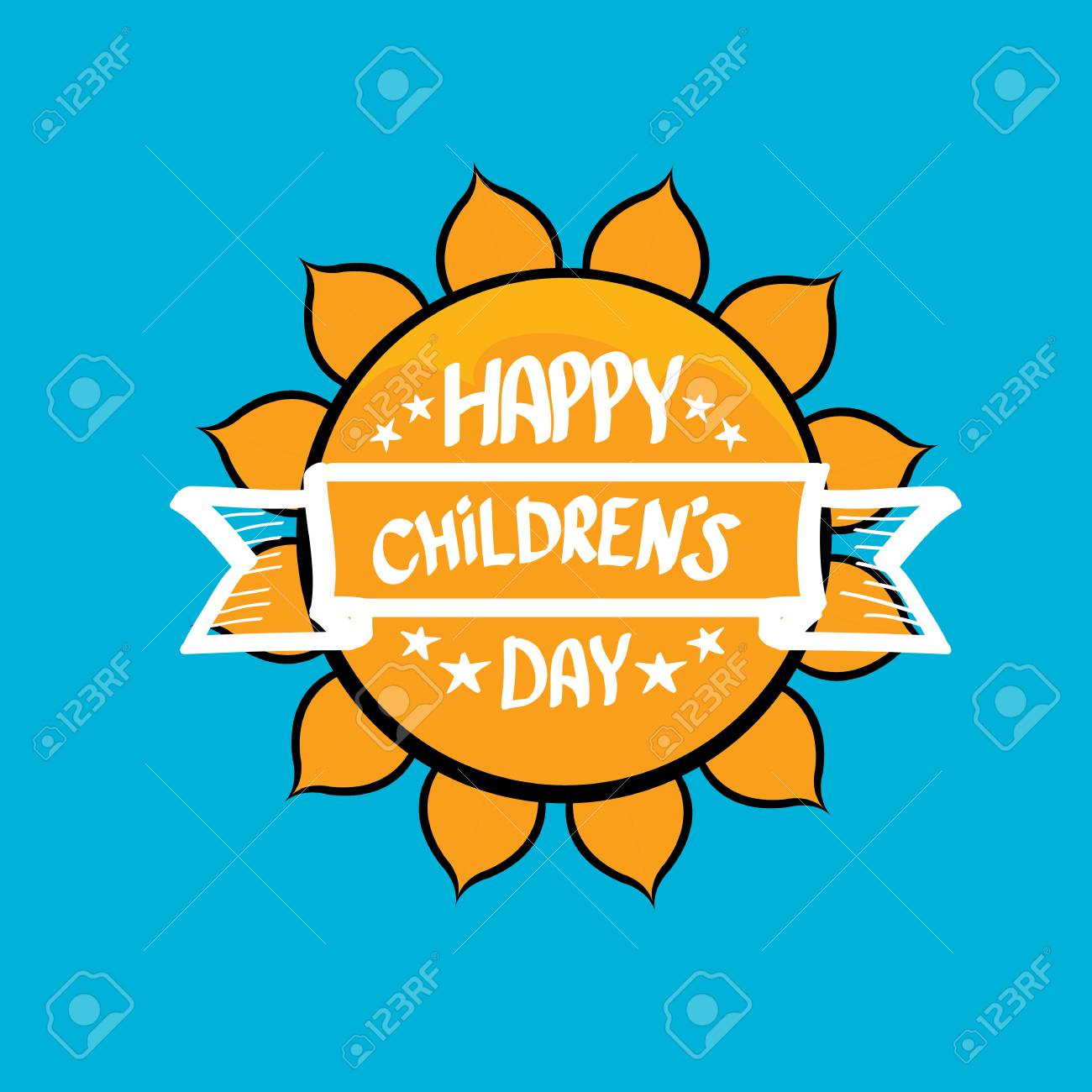 1 June International Childrens Day Background Happy Children Day