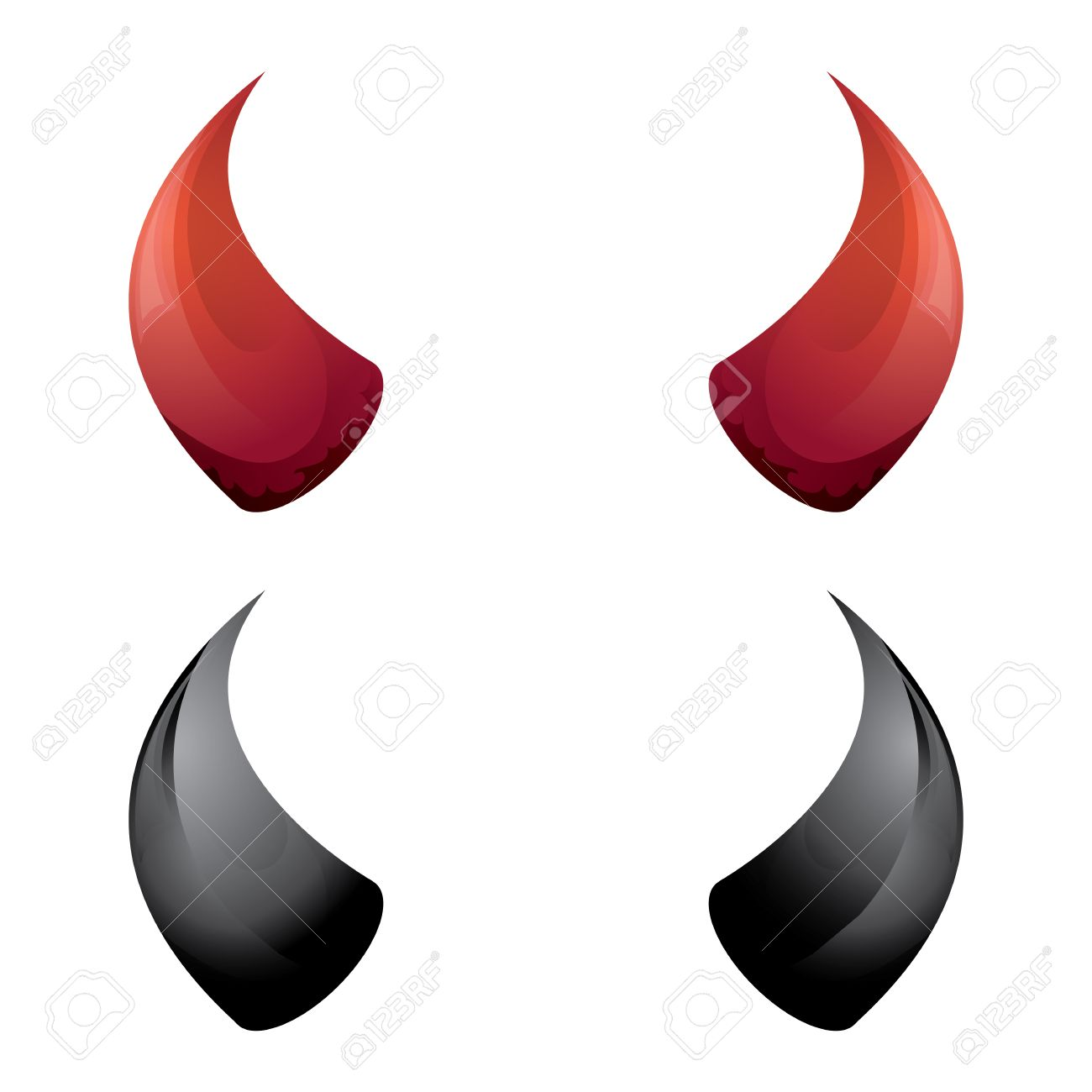 Blanc et Rouge Corne