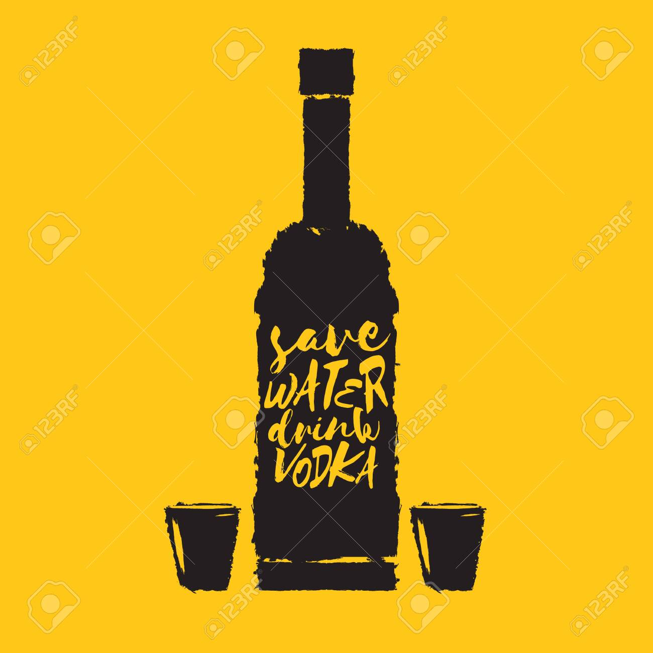 save water drink vodka funny quotes about vodka glass bottle