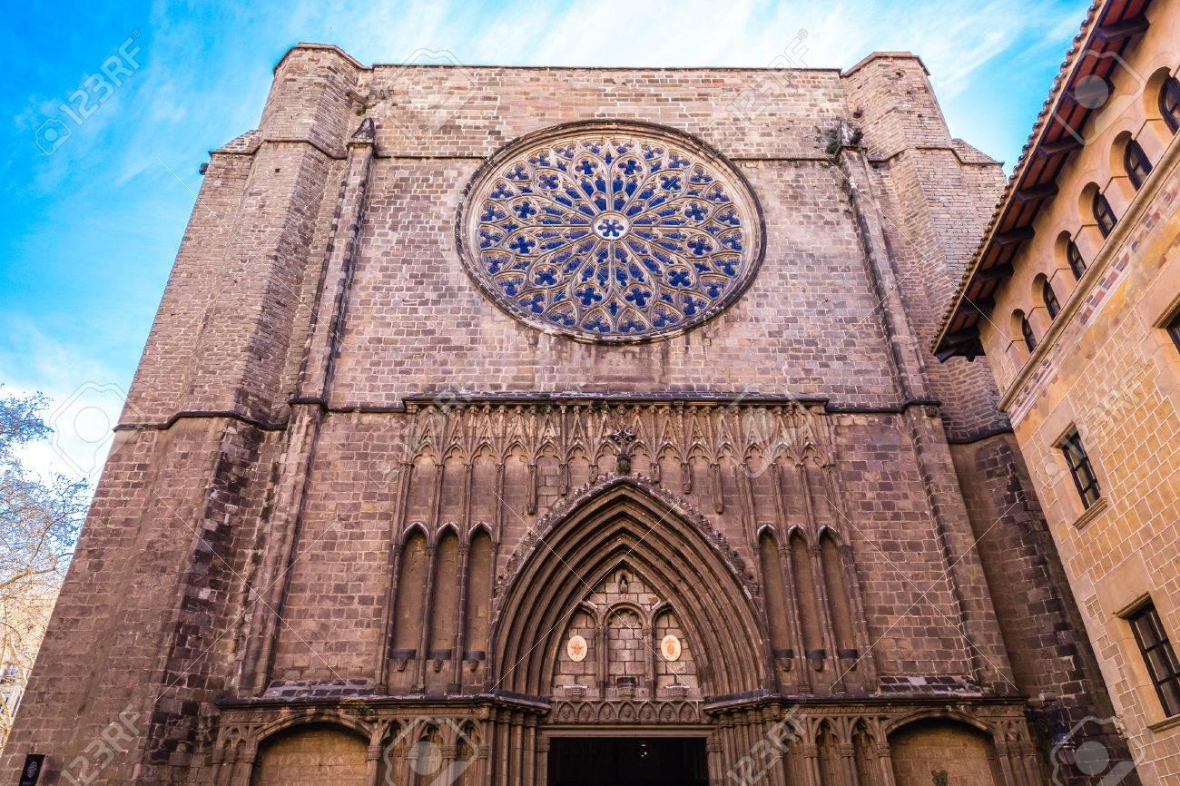 Church Of Santa Maria del Pi - Barcelona, Catalonia, Spain, Europe - 74000775