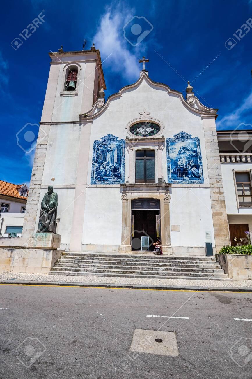 Church Of Vera Cruz In Aveiro - Aveiro, Portugal, Europe - 146817790