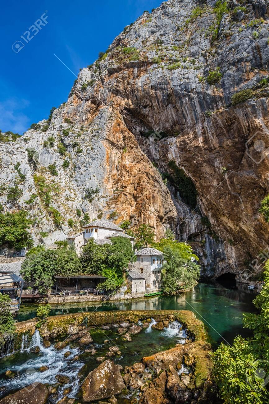 Blagaj Tekke And Buna River - Herzegovina-Neretva Canton of Bosnia and Herzegovina, Europe - 144412831