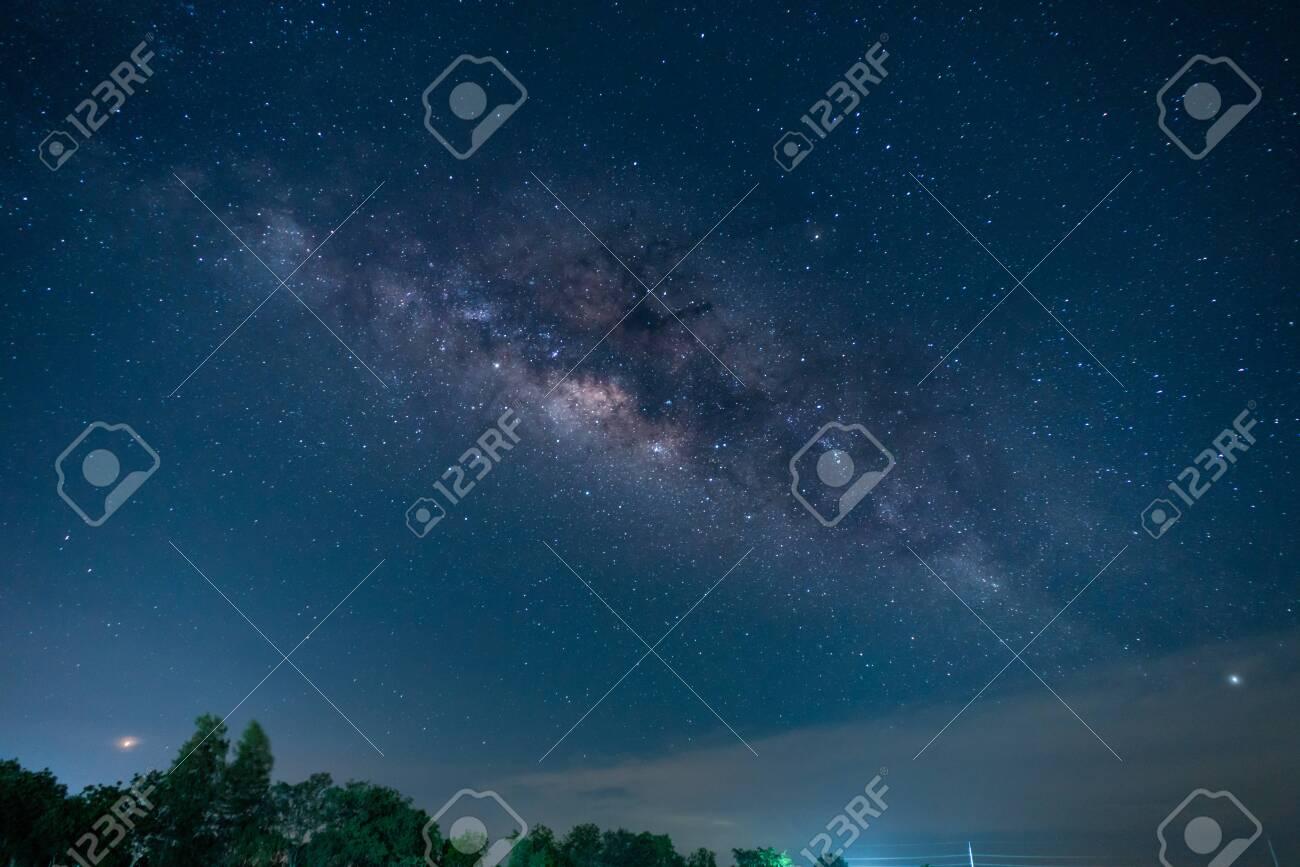 Stock Photo - A Sky full of star milky way - 124345443