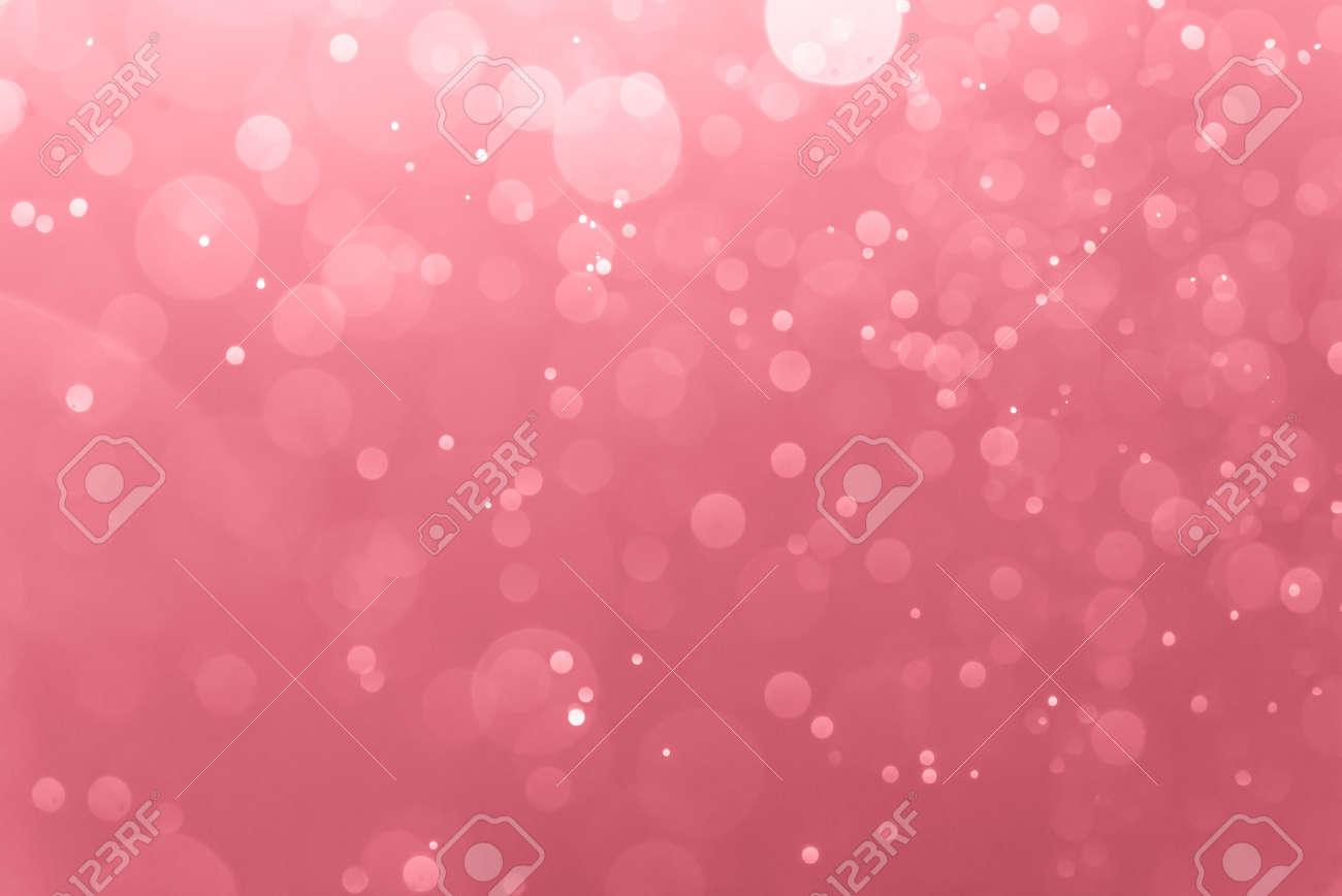 Abstract Pink bokeh defocus glitter blur background. - 159134765