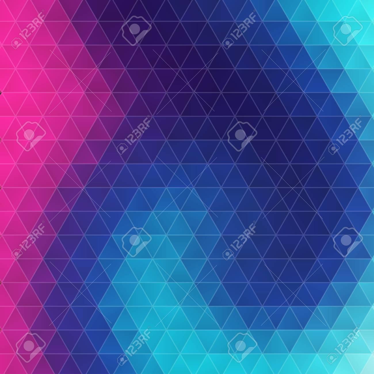 Resumen De Moda Triángulo Geométrico Colorido Hipsters Fondo. Ideal ...