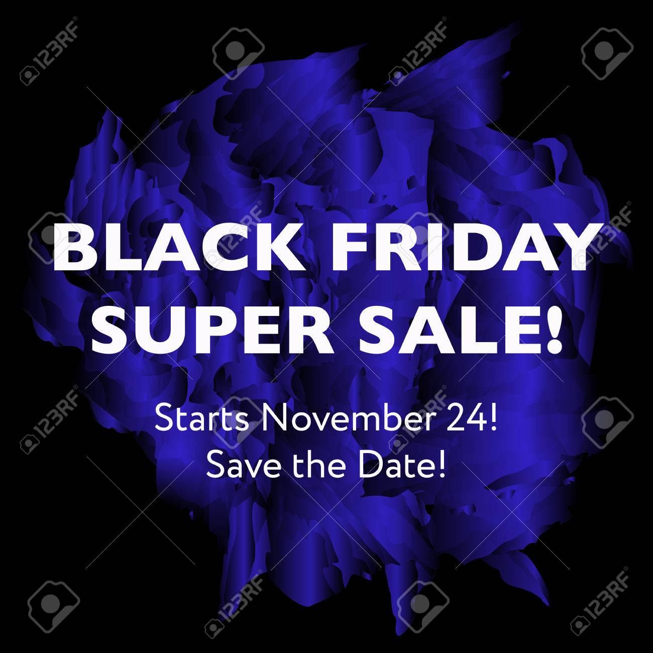 22f62f7432 Black Friday Super Sale concept. Shopping sale or promo poster and frame  leaflet or web