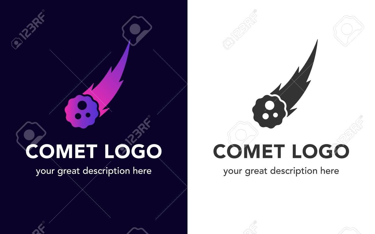 Comet icon set. - 154398496