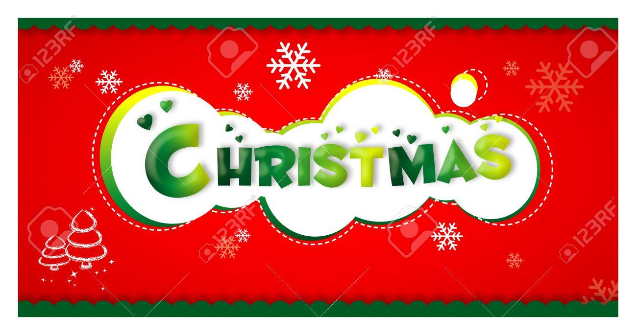 navidad da de fiesta feliz verde carteles tarjetas rbol de
