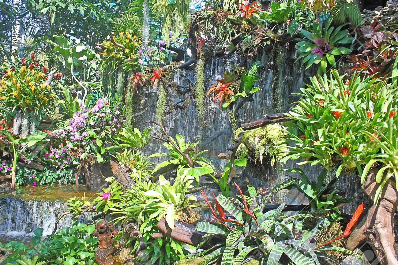 waterfall in the garden Stock Photo - 11780358