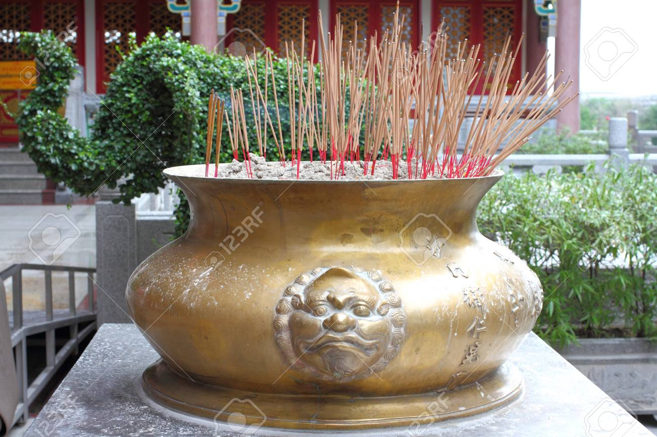 The Chinese Temple Art Public Place Antique Incense Burner Stock Photo Picture And Royalty Free Image Image 15194164