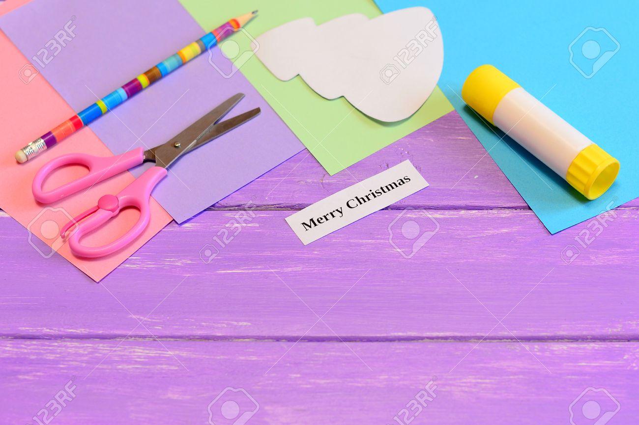 Como Hacer Papel Tarjeta De Felicitacion Feliz Navidad Paso Color