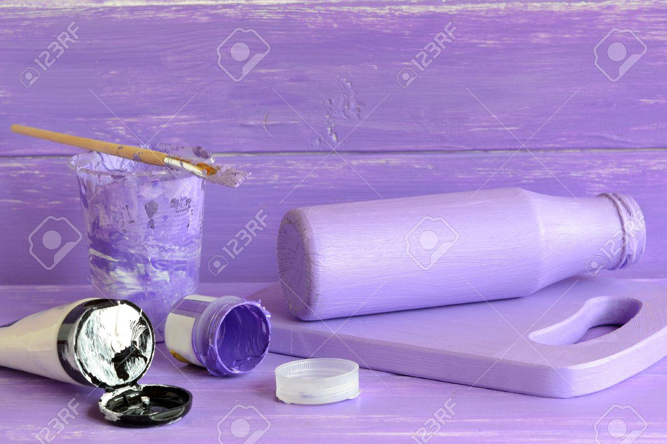 Handmade Decor Glass Milk Bottle Jar Crafts How To Make Decoration At Home