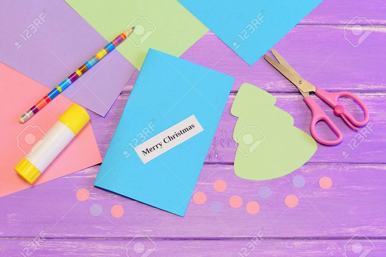 Cómo Crear Artesanías Tarjeta De Navidad Simples Para Los Niños ...