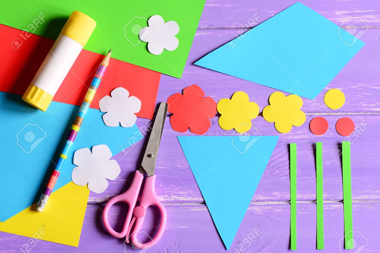 Creating Paper Crafts For Mothers Day Or Birthday Step Cut