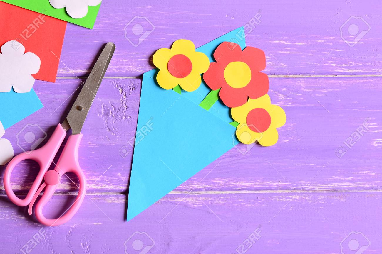 Creating Paper Crafts For Mother S Day Or Birthday Step