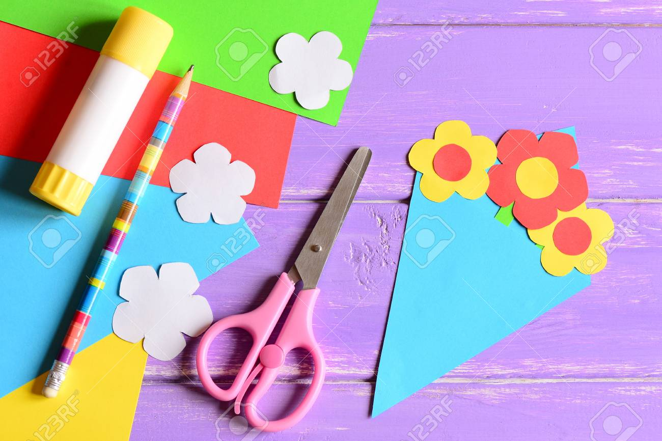 Creating Paper Crafts For Mother S Day Or Birthday Step Tutorial