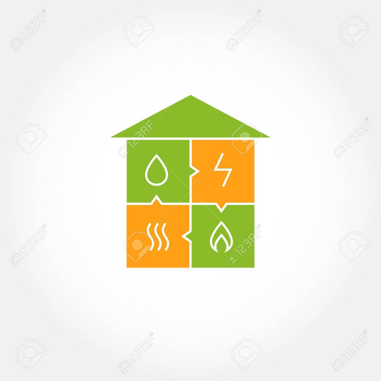 Eco Friendly Construction Vector Logo For A Construction Company Eco Friendly House