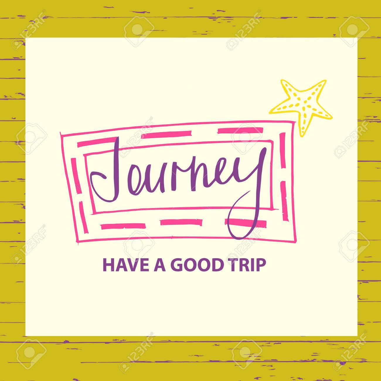 Illustration for advertising tourism companies, tour operators