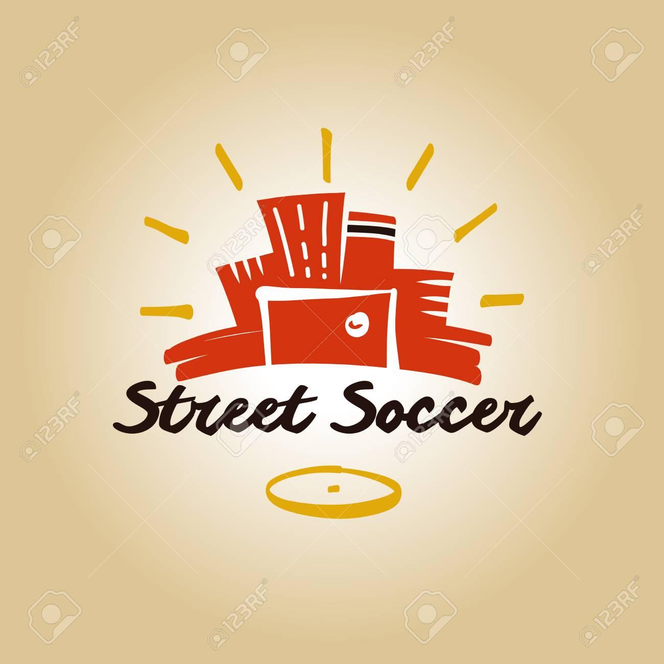 Element Design Poster, Banner, Card, Logo Template For Football ...