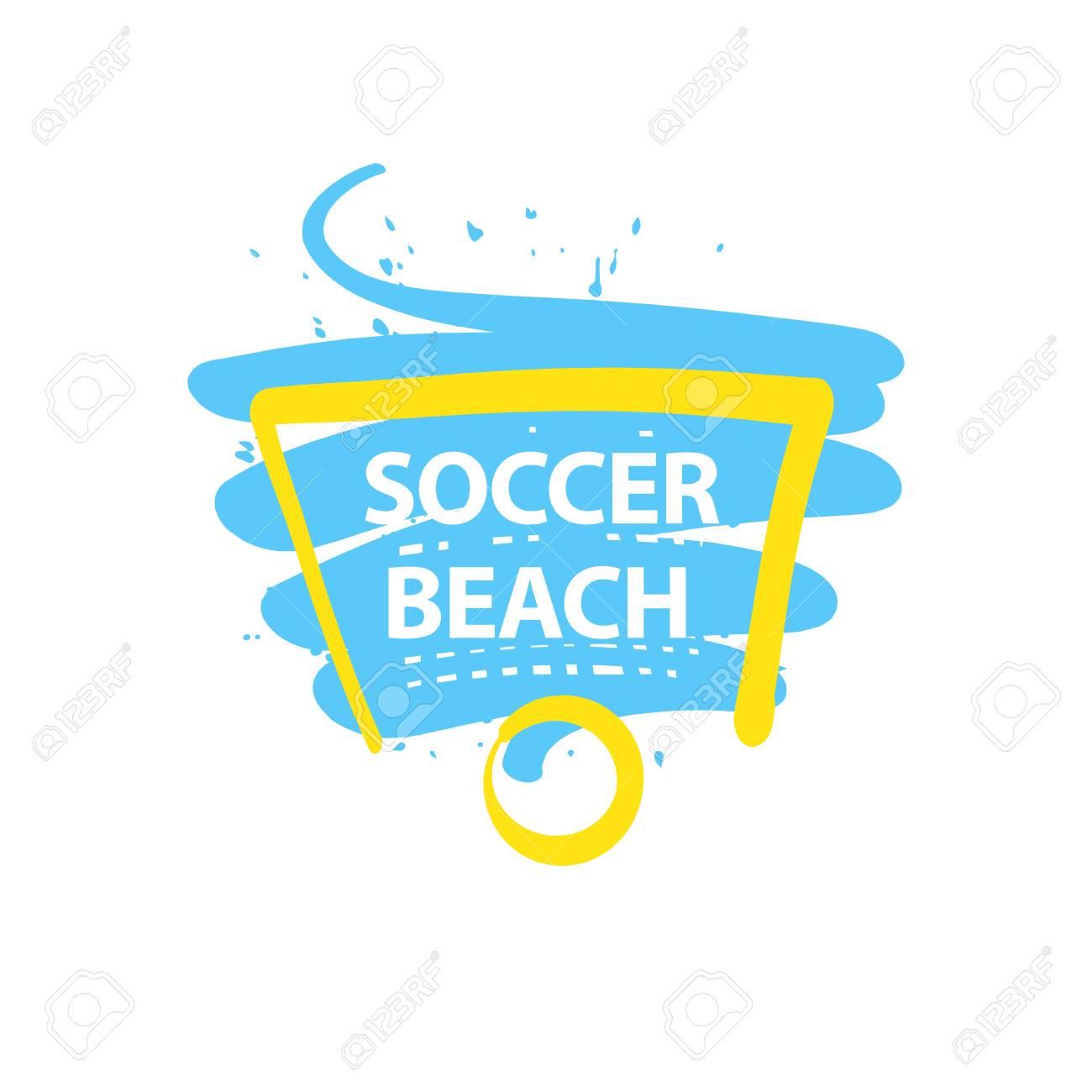 Element Design Poster, Banner, Card, Logo Template For Beach ...